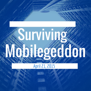 Mobilegeddon from Google